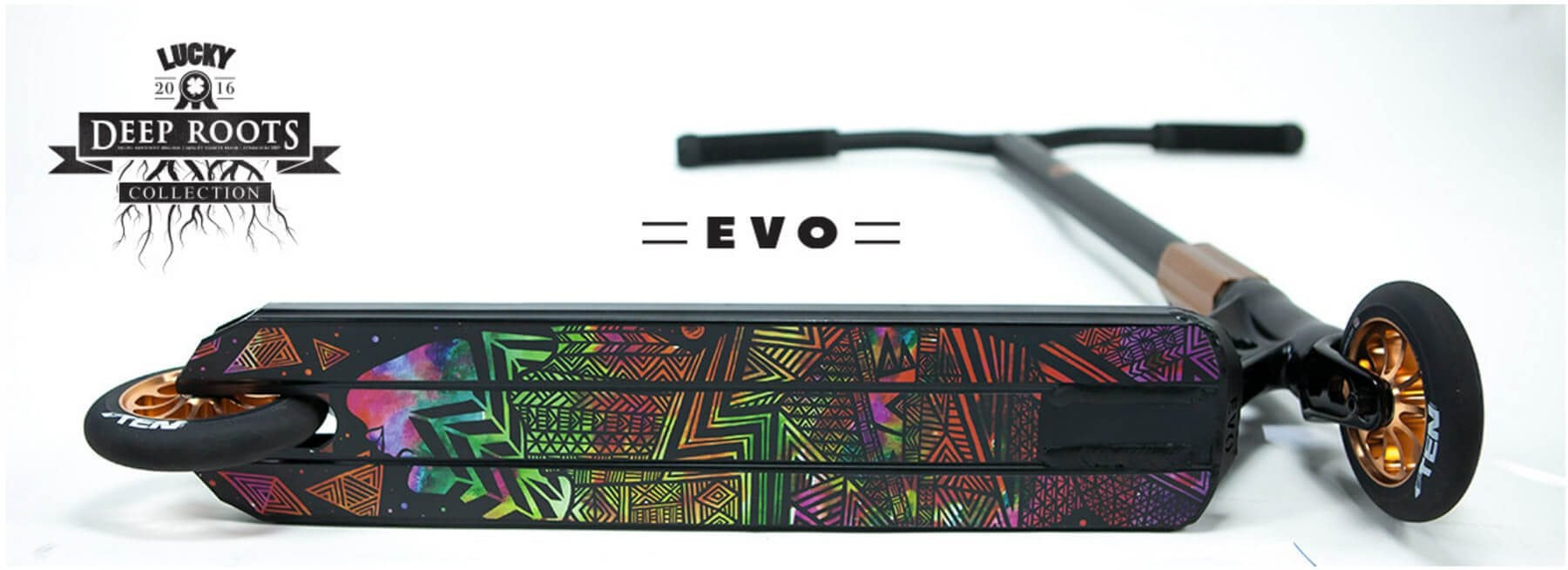 Lucky Evo Complete Pro Scooter Available Now At MyProScooter