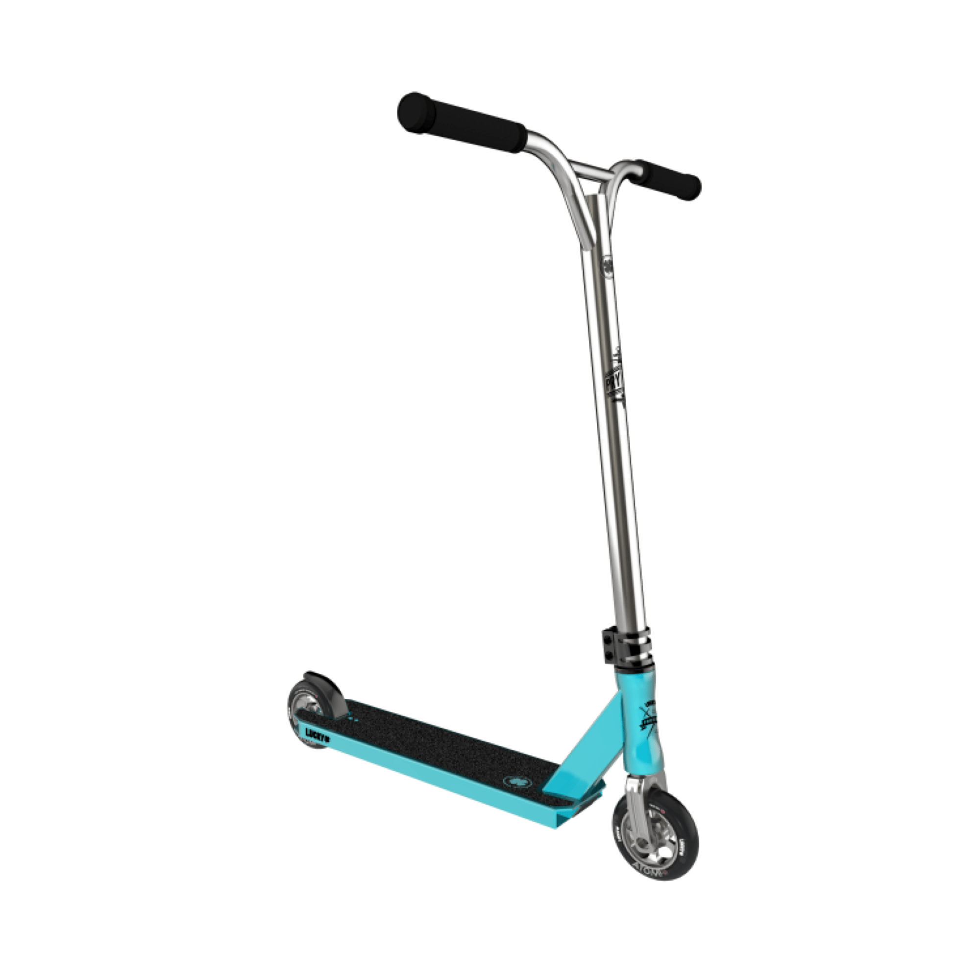 lucky prospect pro stunt scooter teal. Black Bedroom Furniture Sets. Home Design Ideas