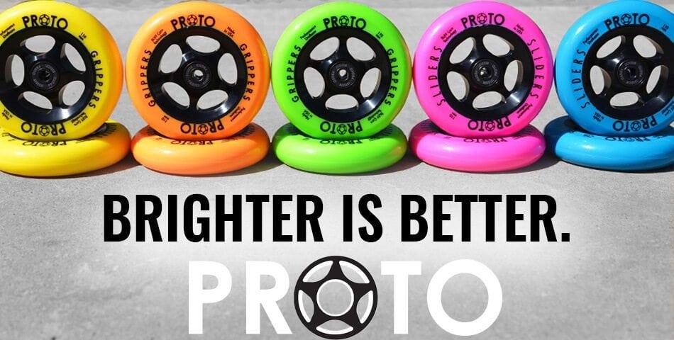 Proto Pro Scooter Wheels