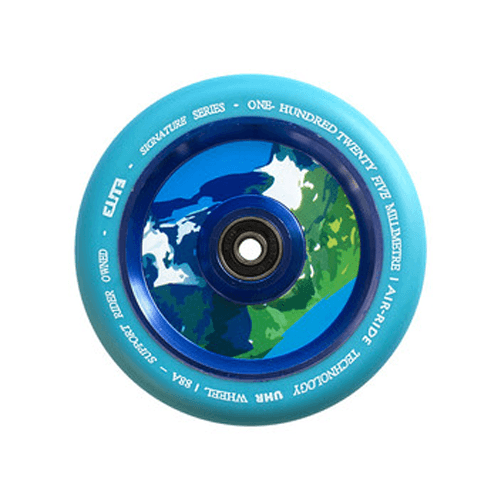 Elite Air Ride Wheel - 125mm - Blue