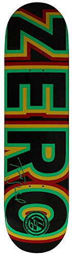 Zero signature skateboard deck for maximum fun