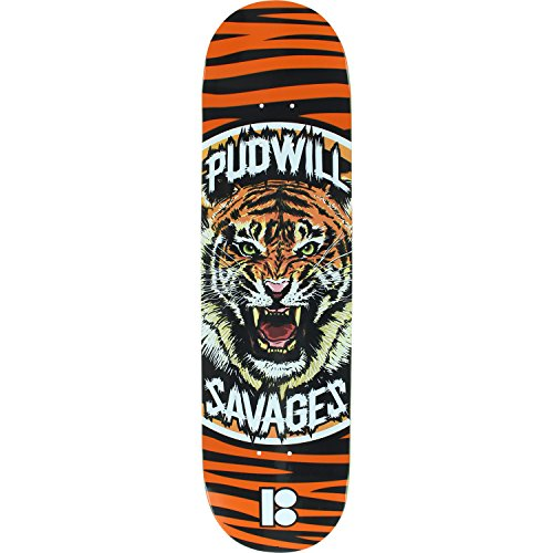 Plan B skateboard decks in orange color