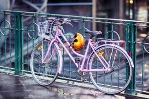 Bicycle scooter helmet