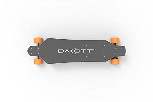 Dakott electric skateboard wih 20 miles max range
