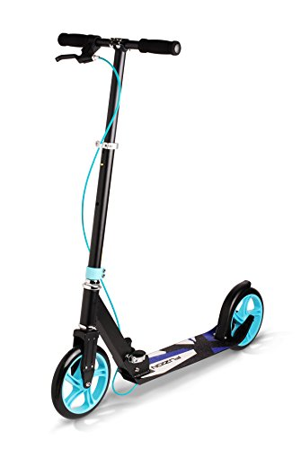 fuzion scooter with two breaks