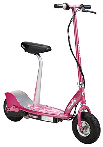Pink stylish scooter for kids