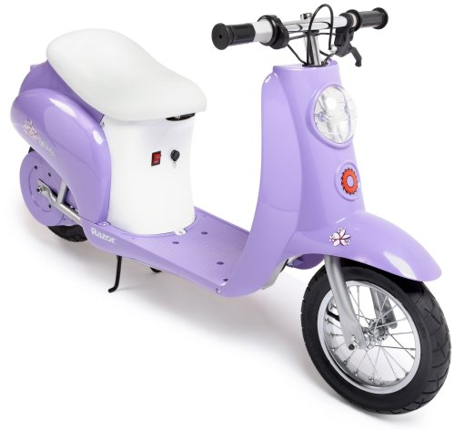 Razor purple electric girls scooter