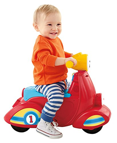 Fisher-Price scoot toy with amazing balance