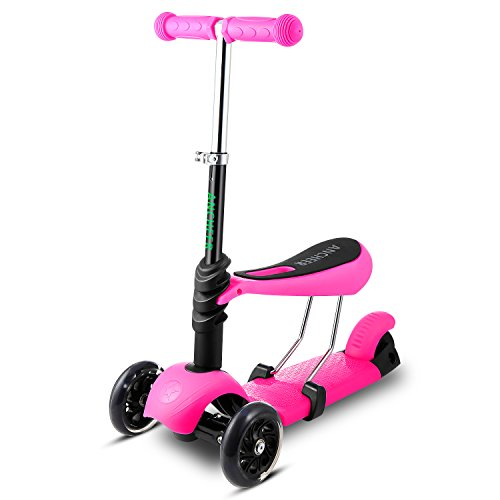Ancheer Light up 3-in-1 Scooter
