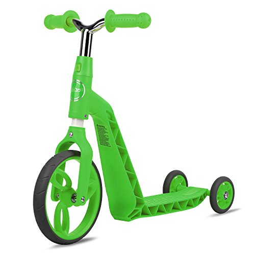 Vokul Big Wheel 2-in-1 Scooter