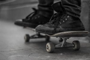 shoes-on-a-skateboard