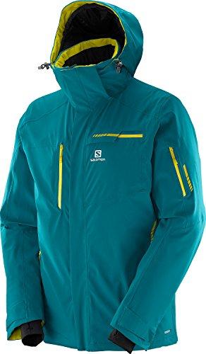 Steel Salomon Brilliant Snow Jacket