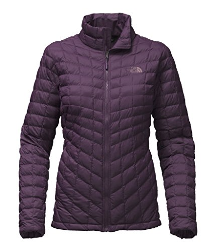 Purple North Face ThermoBall womens Snowboarding Jacket