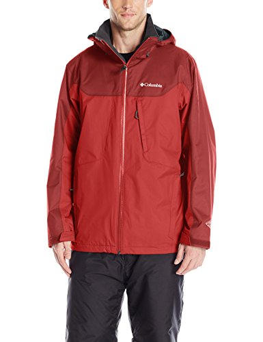 Red Columbia Whirlibird Snowboard Jacket
