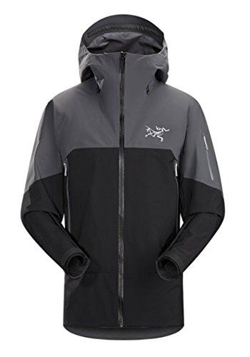 Black and Grey Arc'teryx Rush Snow Jacket