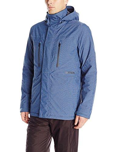 Mens blue Burton Breach Snowboard Jacket