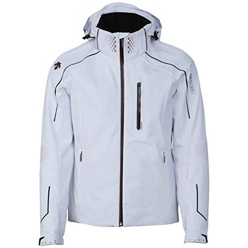White Descente Turbulance Snowboarding Jacket