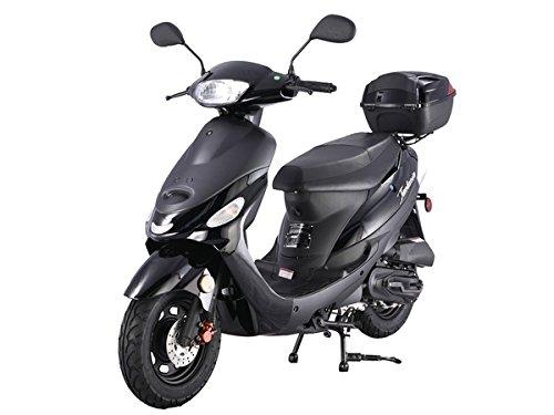 Black TaoTao ATM-50A1 49cc Scooter