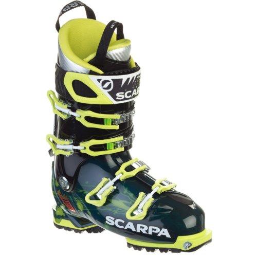 Black and Yellow Scarpa Freedom SL Freeride Ski Boots