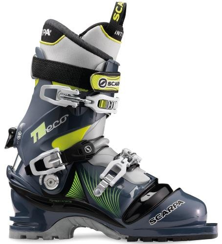 Graphite Yellow Scarpa T2 Eco Skiing Boots