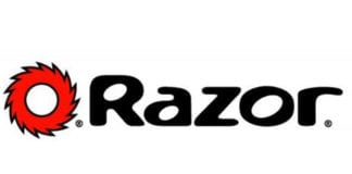 Razor dirt quad bike logo