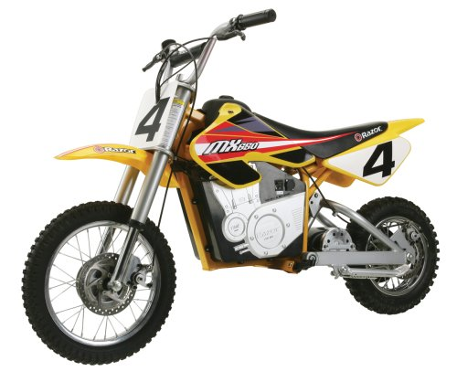 Razor MX650 dirt bike battery life
