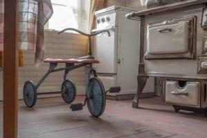 Indoor tricycle