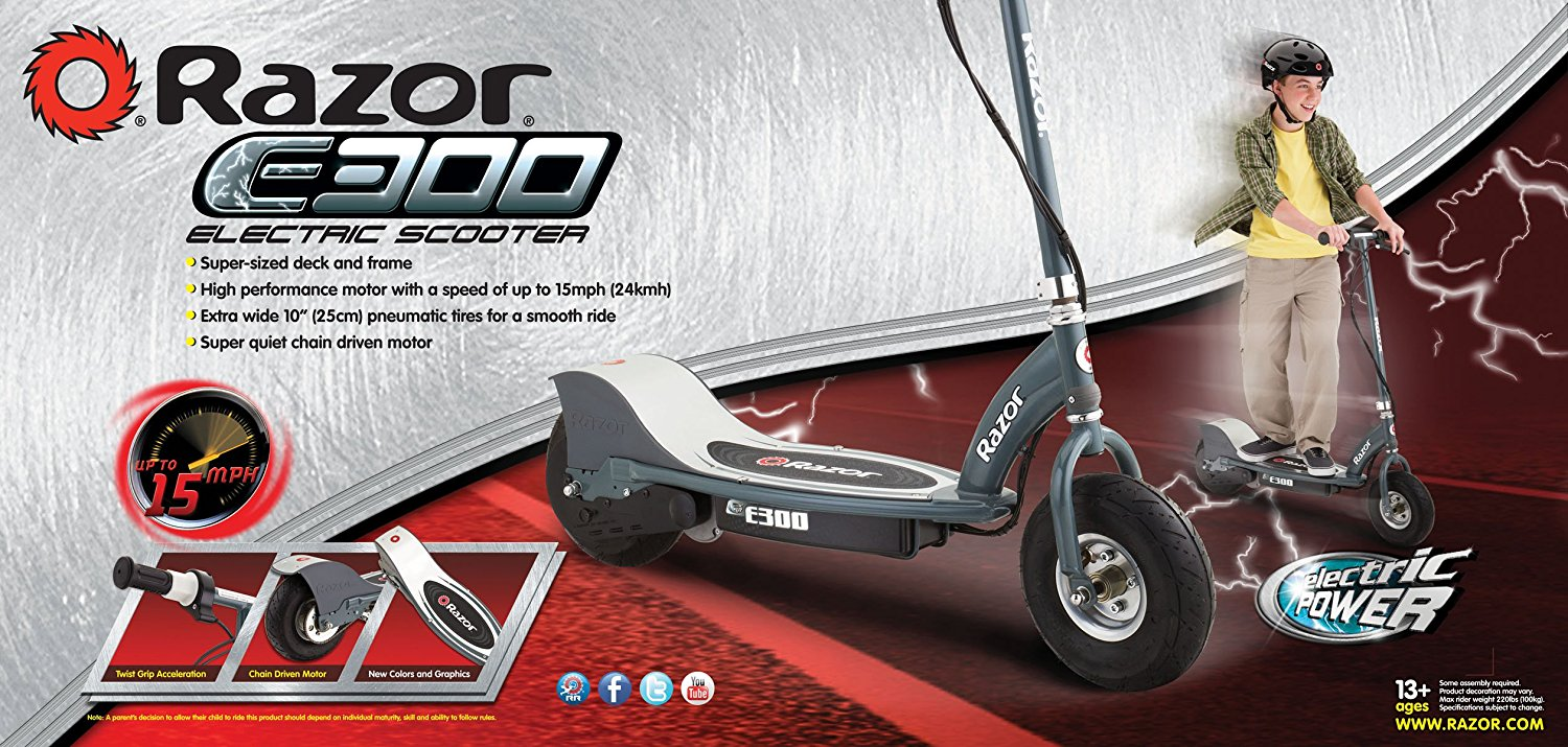 Razor E300 Electric Scooter Review 2018 Guide