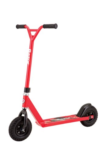 Razor Pro RDS Dirt Scooter Red