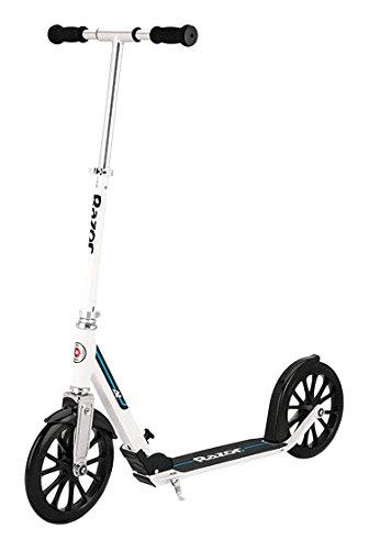Razor A6 scooter in white
