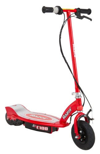 Red E100 electric scooter by Razor