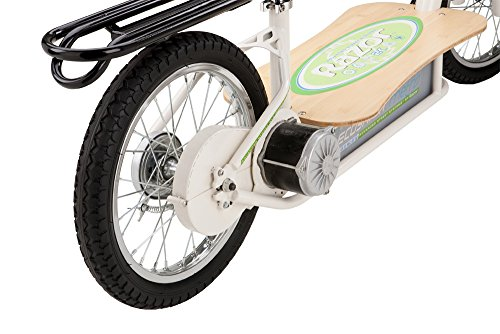 Tires of the Razor EcoSmart Metro electric scooter