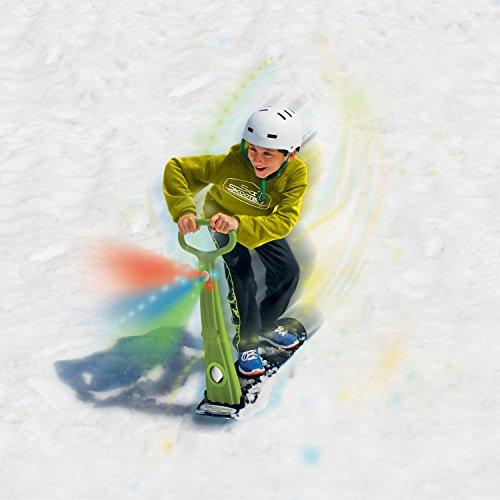 GeoSpace Original LED Ski Skooter on ski slope