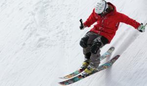 downhil skiing
