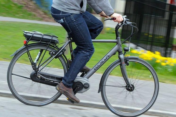 Electric bike speed