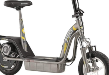 Electric scooter with seat