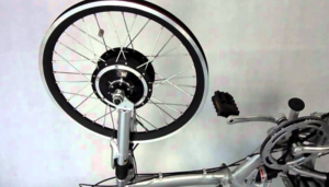 Front wheel electric kit