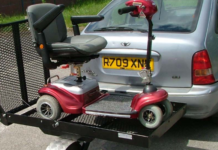 Mobility scooter trailers