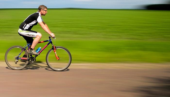Ohuhu Mens 3D Padded Bike Bicycle MTB Cycling Underwear Shorts