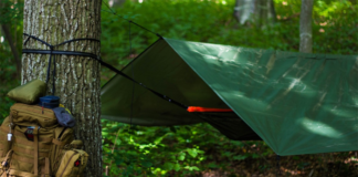 Hammock with tent