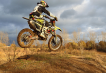 Motorcycle Dirt Jump