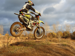 Motorcycle Dirt Jump