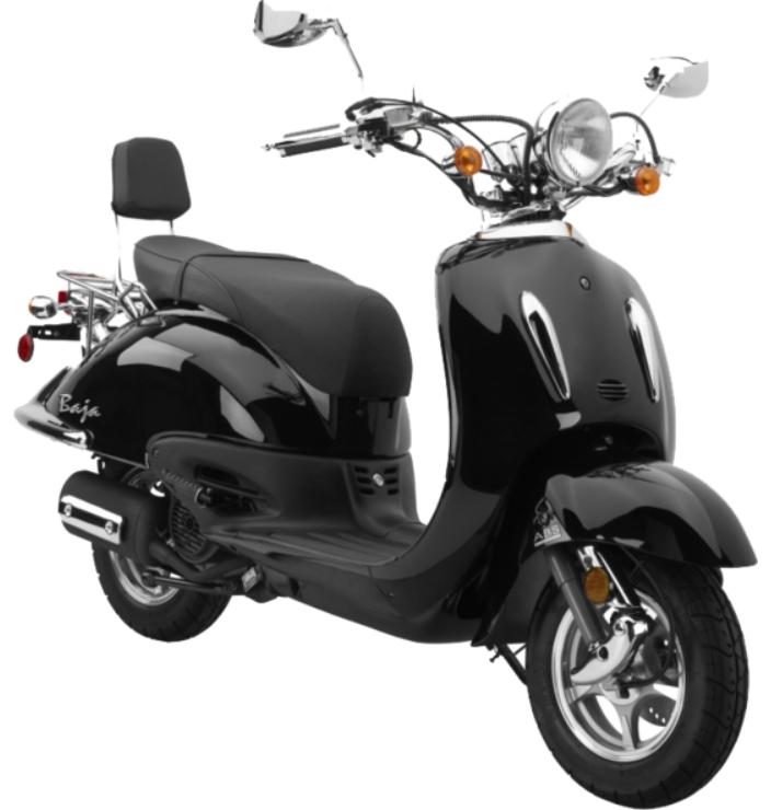 Baja Scooter black