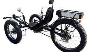 Fat Tire Electric Recumbent Tricycle