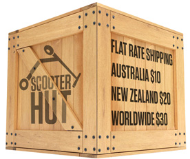 Scooter Hut Shipping